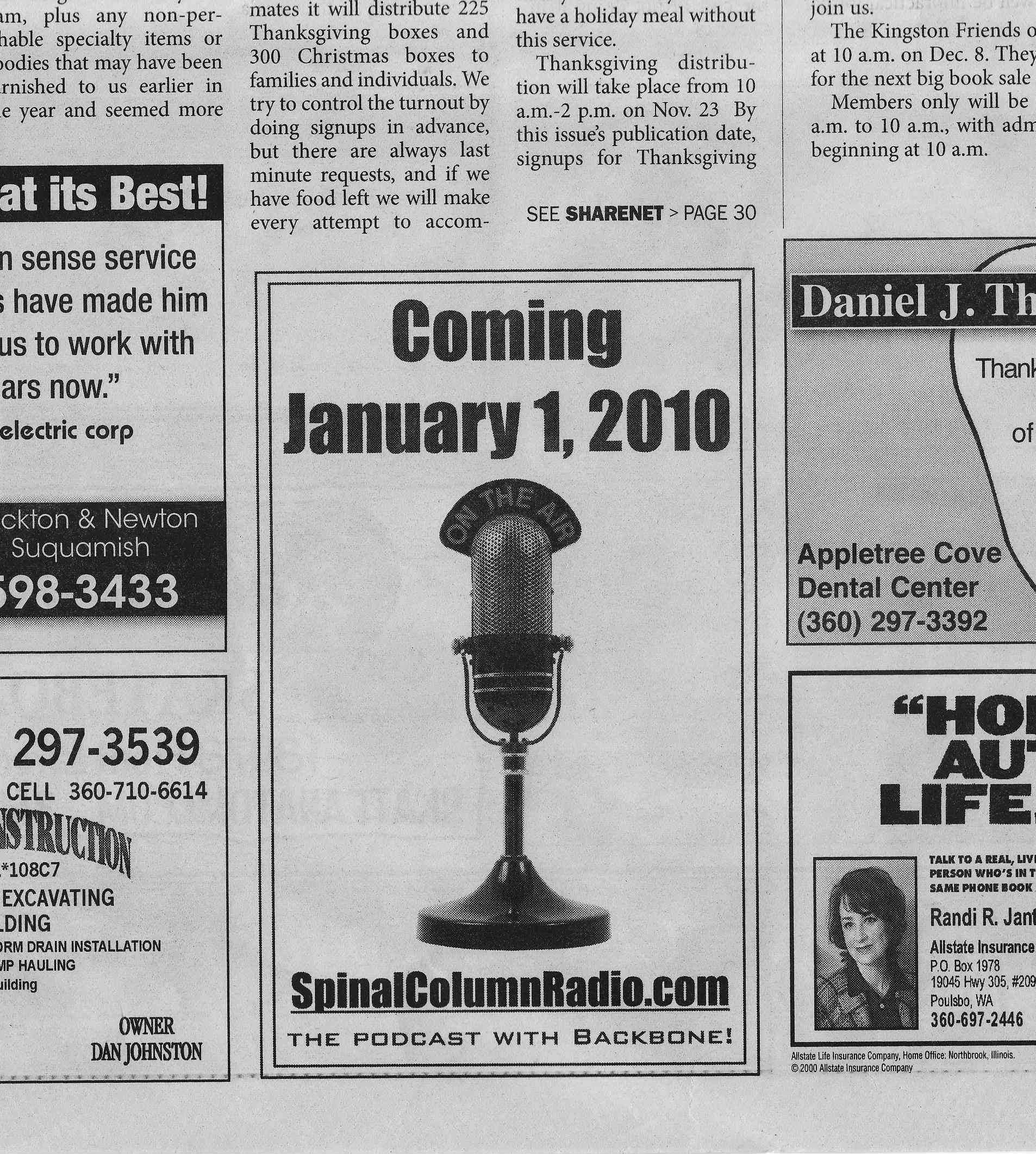 Promotional Bin | SpinalColumnRadio