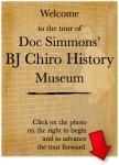 Simmons Chiro Museum start