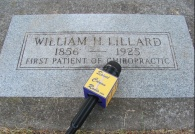 The image of Harvey Lillard's new tombstone on the BCQ website: http://bqc.wikispaces.com/Lillard+new+tombstone Listen to our interview atop Harvey's grave on SCR 140.