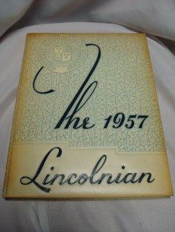 Lincoln Chiro School 1957 Yearbook