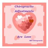 Chiropractic Adjustments are Love