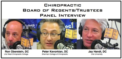 Chiro Board Regents - Trustees Panel Interview