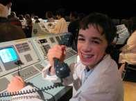 Apollo 13 - Logan takes a call
