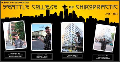 Seattle College of Chiropractic, in search of