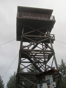 Deer Ridge Lookout Tower outside of Bonners Ferry, Idaho