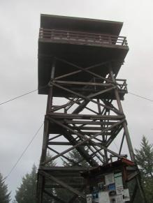 Deer Ridge Lookout Tower outside of Bonners Ferry, Idaho