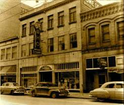 WHO studio on Walnut Street in DesMoines. BJ moved the studio to this location shortly after purchasing it.