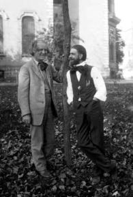 Elbert Hubbard and BJ Palmer