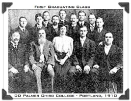 DD Palmer Portland School First Graduating Class