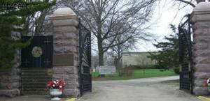 Oakdale Cemetery entrance