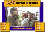 Brad Glowaki… always delivered solid content. And he did it 5 times…. earning him a spot in the SCR Repeat Offender Club.