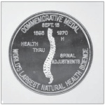 Chiropractic 75 Coin reverese