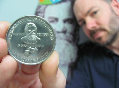 Diamond Jubilee of Chiropractic Coin