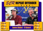 """Founder of New Beginnigs – Jim Dubel…. on SCR 8 times! Of course as the Outlaw, you'd expect that he'd be a """"Repeat Offender."""""""