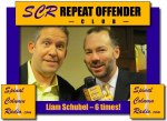 CWD, Liam Schubel, found himself in our Repeat Offenders Club with 6 appearances on the show.